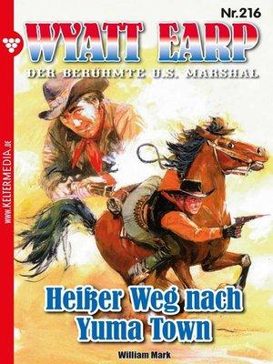 cover image of Wyatt Earp 216 – Western