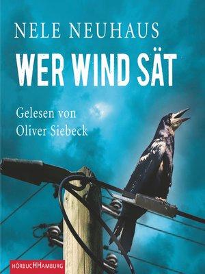 cover image of Wer Wind sät