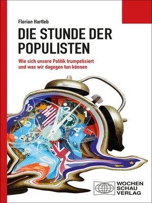 cover image of Die Stunde der Populisten