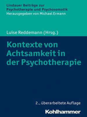 cover image of Kontexte von Achtsamkeit in der Psychotherapie