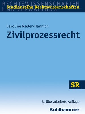 cover image of Zivilprozessrecht
