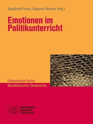 cover image of Emotionen im Politikunterricht