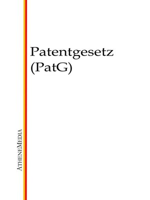 cover image of Patentgesetz (PatG)
