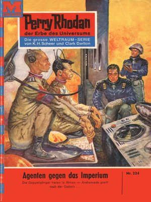 cover image of Perry Rhodan 224