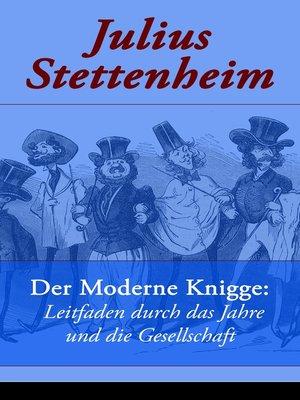 cover image of Der Moderne Knigge