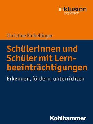 cover image of Schülerinnen und Schüler mit Lernbeeinträchtigungen