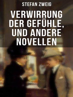 cover image of Verwirrung der Gefühle, und andere Novellen
