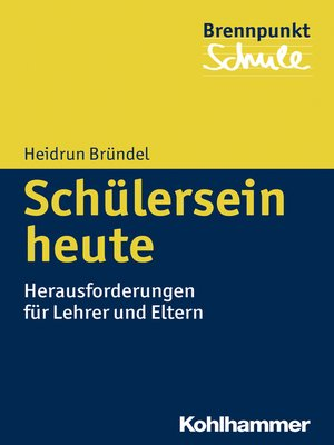 cover image of Schülersein heute