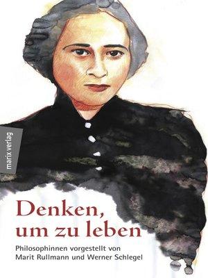 cover image of Denken, um zu leben