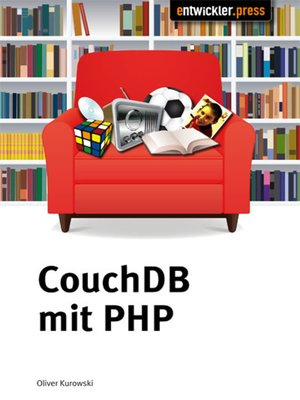cover image of CouchDB mit PHP