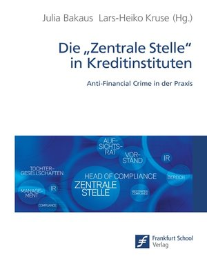 "cover image of Die ""Zentrale Stelle"" in Kreditinstituten"