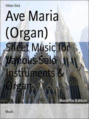 cover image of Ave Maria (Organ)
