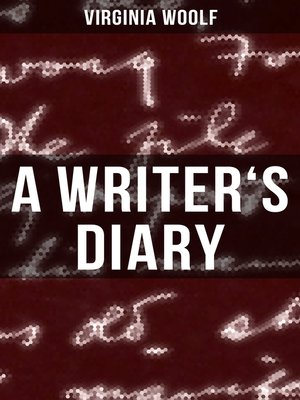 cover image of A WRITER'S DIARY