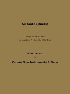 cover image of Air Suite (Duets)