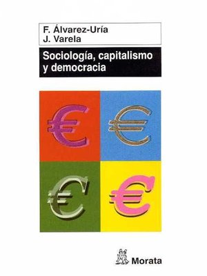 cover image of Sociología, capitalismo y democracia