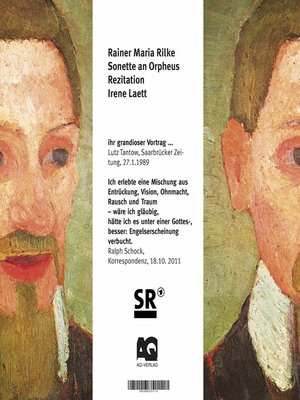 cover image of Die Sonette an Orpheus
