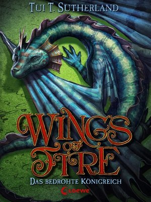 cover image of Wings of Fire 3--Das bedrohte Königreich