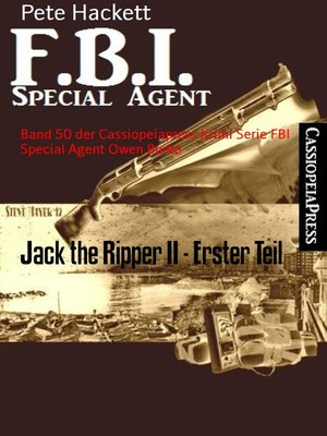 cover image of Jack the Ripper II--Erster Teil