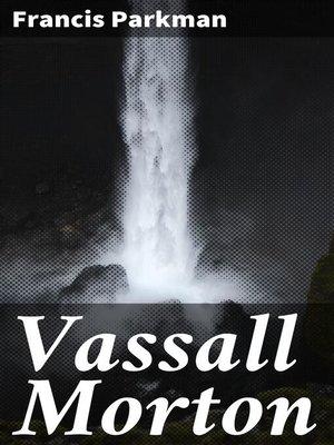 cover image of Vassall Morton