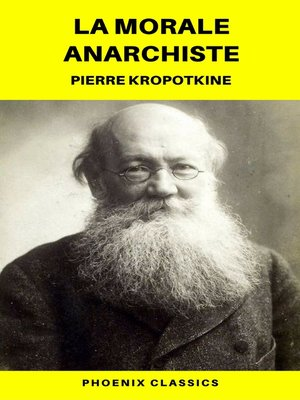 cover image of La Morale anarchiste (Phoenix Classics)