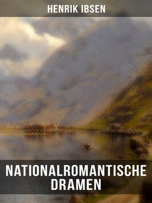 cover image of Nationalromantische Dramen
