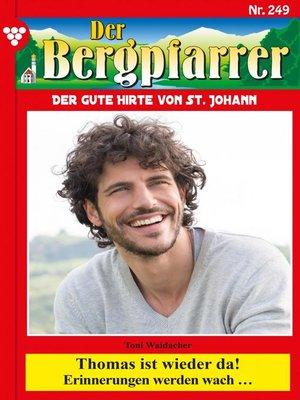 cover image of Der Bergpfarrer 249 – Heimatroman