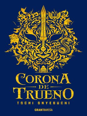 cover image of Corona de trueno