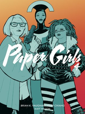 cover image of Paper Girls 4
