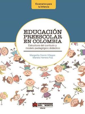 cover image of Educación Preescolar en Colombia