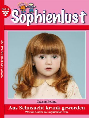 cover image of Sophienlust 317--Familienroman