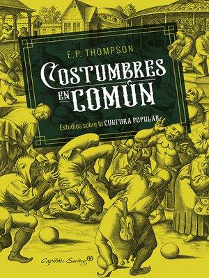 cover image of Costumbres en común