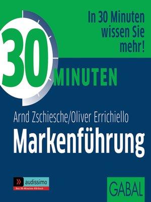 cover image of 30 Minuten Markenführung