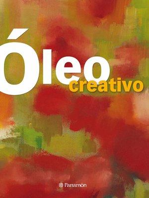 cover image of Óleo creativo