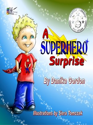 cover image of A Superhero Surprise