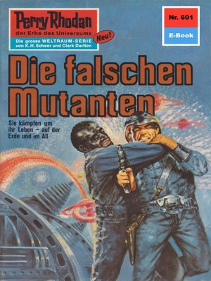cover image of Perry Rhodan 601