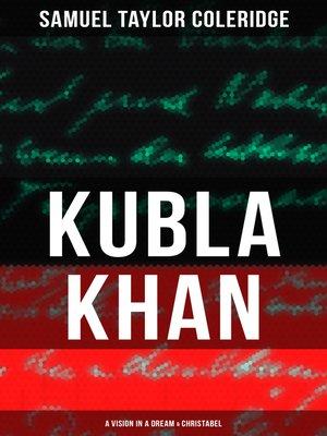 cover image of KUBLA KHAN