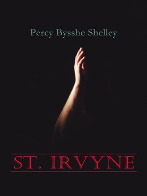 cover image of St. Irvyne