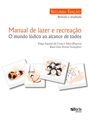 cover image of Manual de lazer e recreação