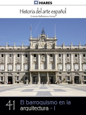 cover image of El barroquismo en la arquitectura--I
