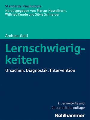 cover image of Lernschwierigkeiten