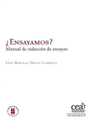 cover image of ¿Ensayamos?