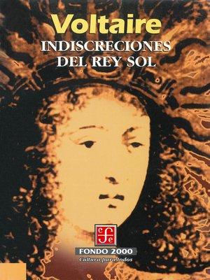 cover image of Indiscreciones del Rey Sol