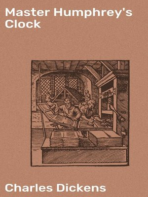 cover image of Master Humphrey's Clock