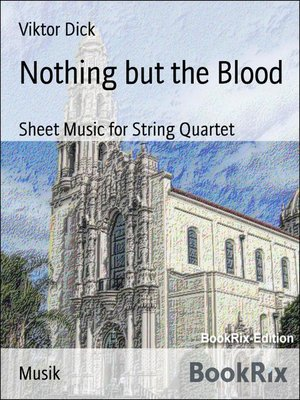 cover image of Nothing but the Blood