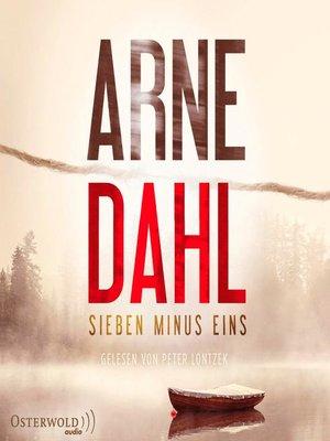 cover image of Sieben minus eins (Berger & Blom 1)