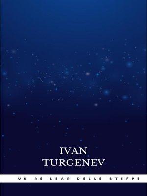 cover image of Un Re Lear delle steppe