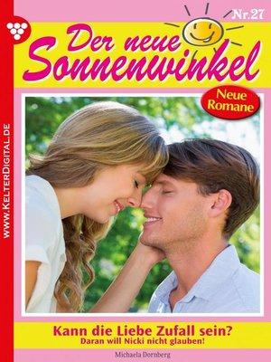 cover image of Der neue Sonnenwinkel 27 – Familienroman