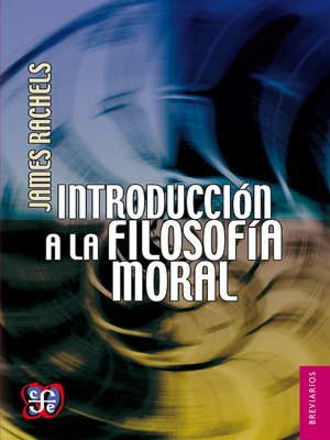cover image of Introducción a la filosofía moral