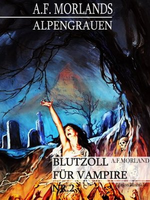 cover image of Blutzoll für Vampire