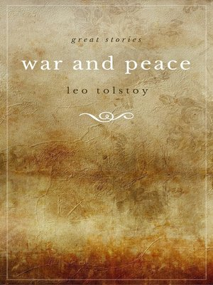 cover image of War and Peace (Modern Library)